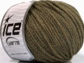Airwool worsted - khaki melánž