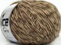 Aitana vlna - mouline - hnědé odstíny
