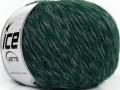 Aitana vlna - mouline - zelenošedá