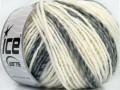 Alladin Alpaka - bílošedé odstíny