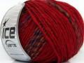 Alladin Alpaka - červenopurpurovooranžovočerná