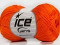 Almina bavlna - oranžová