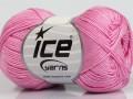 Almina bavlna - růžová