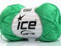 Almina bavlna - smaragdově zelená