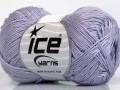 Almina bavlna - světle fialová