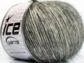 Alpaka bavlna - šedokrémová
