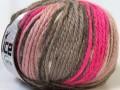 Alpaka bulky magic - růžovošedosvětlerůžová