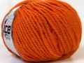 Alpaka bulky - oranžová