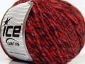 Alpaka colors plus - oranžovočervenočerná
