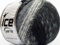 Alpaka deluxe - černošedobílá