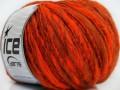 Alpaka flamme - neonověoranžovoměděná