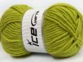 Alpaka gold - světle zelená