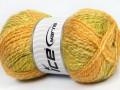 Alpaka mohér color - zelenožluté odstíny