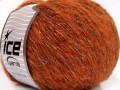 Alpaka šajn - oranžovočernozlatá