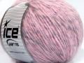 Alpaka šajn - světlerůžovošedostříbrná