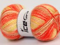 Alpine angora color - oranžovožlutá