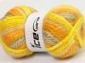 Alpine angora color - žlutozlatosvětle šedá