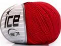 Amigurumi bavlna - červená 1