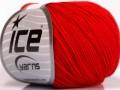 Amigurumi bavlna - červená
