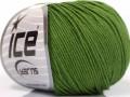 Amigurumi bavlna - lesní zelená