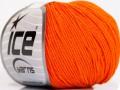 Amigurumi bavlna - oranžová 1