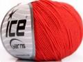 Amigurumi bavlna - rajčatovo červená