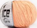 Amigurumi bavlna - světle lososová