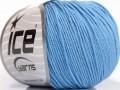 Amigurumi bavlna - světle modrá