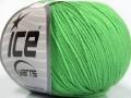 Amigurumi bavlna - světle zelená 1