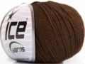 Amigurumi bavlna - tmavě hnědá