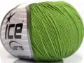 Amigurumi bavlna - zelená