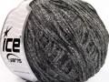 Amigurumi Chenille - černošedobílá
