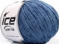 Amigurumi Chenille - indigo modrá