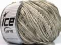 Amigurumi Chenille - světle šedá