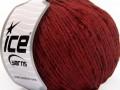 Amigurumi Chenille - tmavě červená