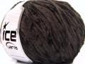Amigurumi Chenille - tmavě hnědá 1