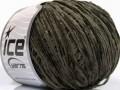 Amigurumi Chenille - tmavě khaki