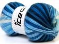 Angora Active - modrobílé odstíny