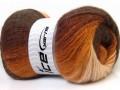 Angora color glitz - hnědé odstíny