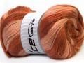 Angora color glitz - hnědoměděná