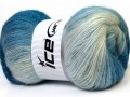 Angora color glitz - modré odstíny