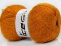 Angora glitz - oranžovozlatá