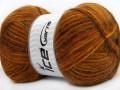 Angora supreme color - hnědozlatoměděnooranžová