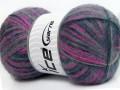 Angora supreme color - purpurovonámořnickášedá