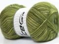 Angora supreme color - zelené odstíny