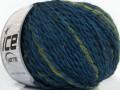 Assurdo vlna - modrozelená
