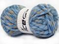 Astoria - modrovelbloudíbílá