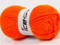 Atlaš - oranžová