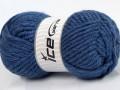 Atlas superbulky - jeansově modrá
