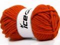 Atlas superbulky - oranžová